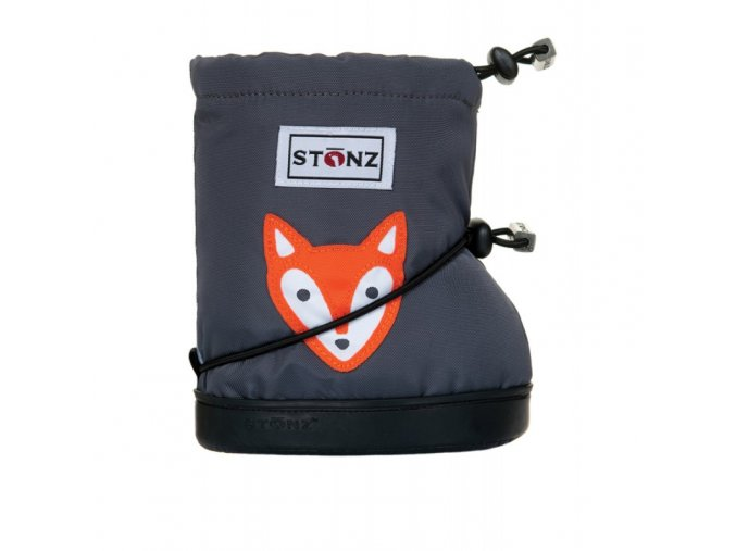 stonz booties toddler fox grey