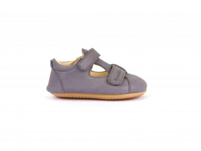 froddo prewalkers sandal 2velcro grey