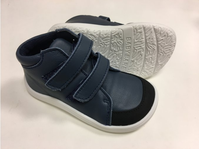 baby bare shoes febo fall navy asfaltico