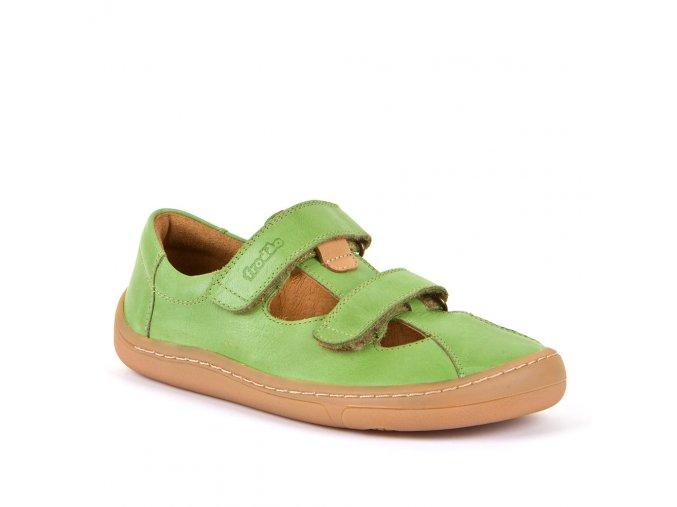 froddo barefoot sandaly 2zipy olivove