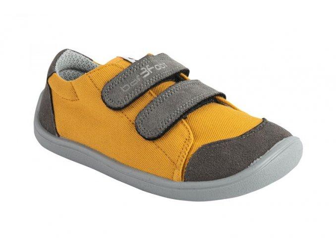 bar3foot tenisky zlutosede3