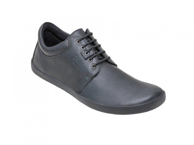 solerunner metis black leather angle