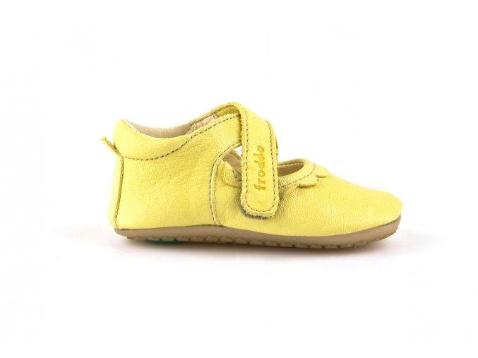 froddo prewalkers ballerina yellow