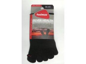 toe socks silver health