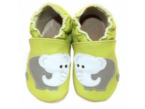capacky zelene slon
