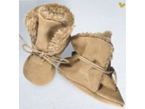 capacky zimni beige