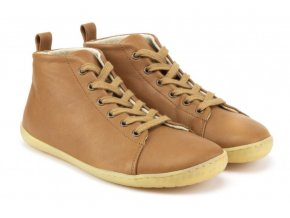 mukishoes highcut raw leather brown