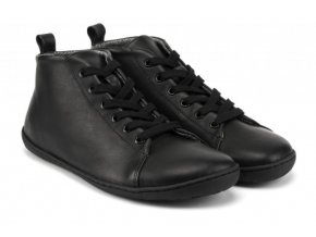 mukishoes highcut rawleather black