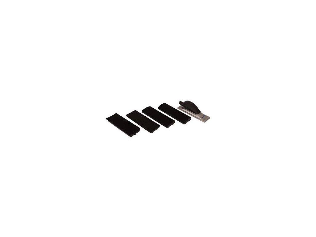 Finixa ruční brusný blok - 8 otvorů + 4 nástavce
