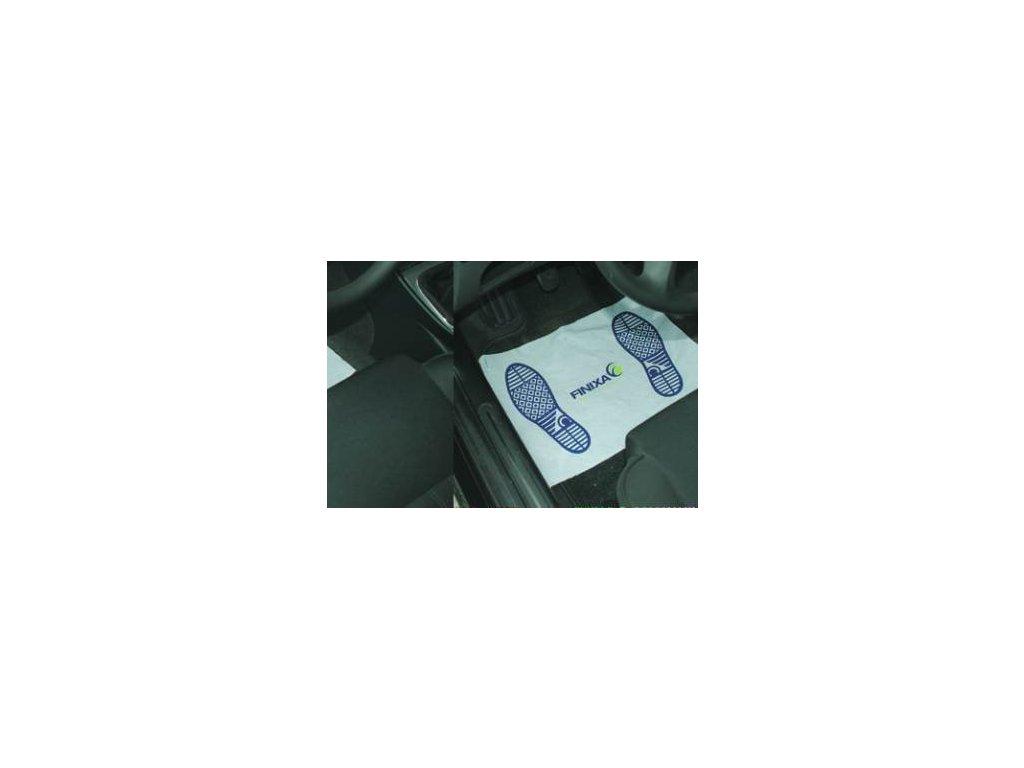 Finixa papírové podl. rohože na plastové podložce - 70gr 500 ks v krabici