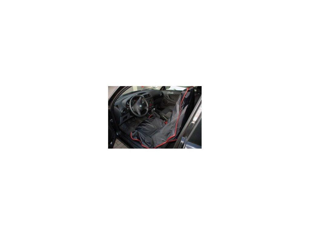 Finixa Nylonové kryty sedadel - černé