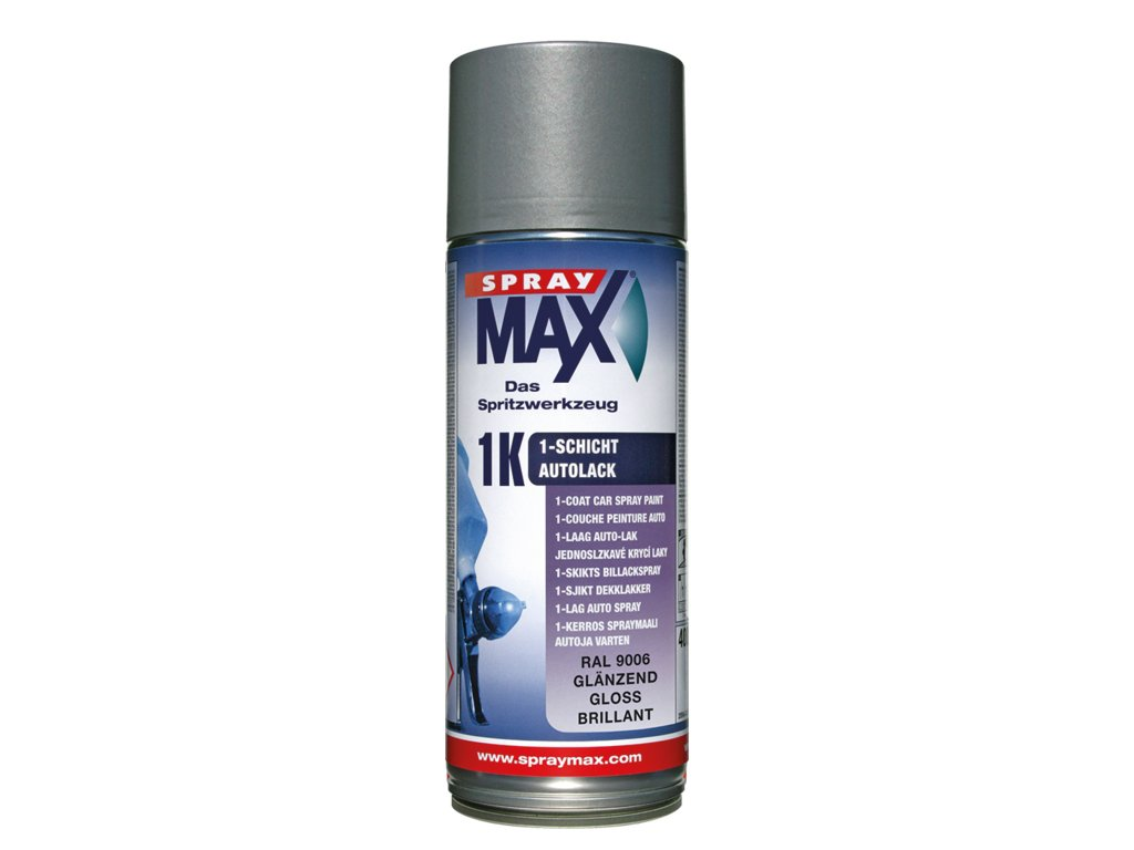 SprayMax 1K vrchní krycí lak RAL 9005 mat 400 ml
