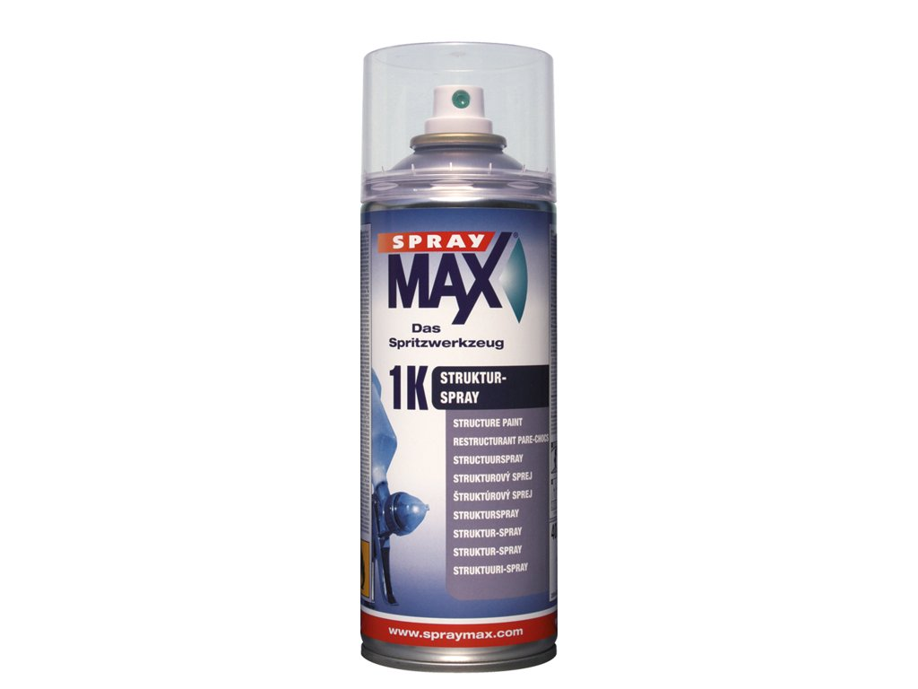 SprayMax 1K strukturovaný lak hrubší transparent 400 ml