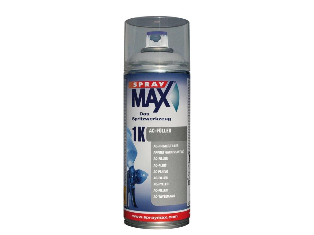 SprayMax 1K akryl plnič středně šedý 400 ml