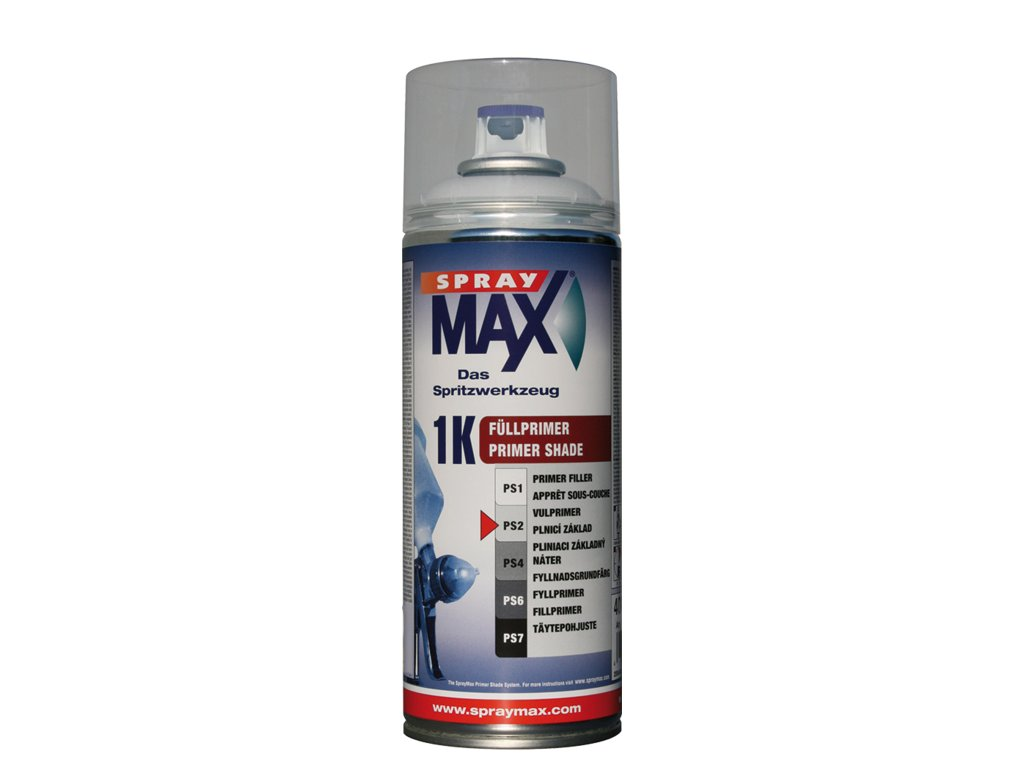 SprayMax 1K plnič tmavě šedý 400 ml