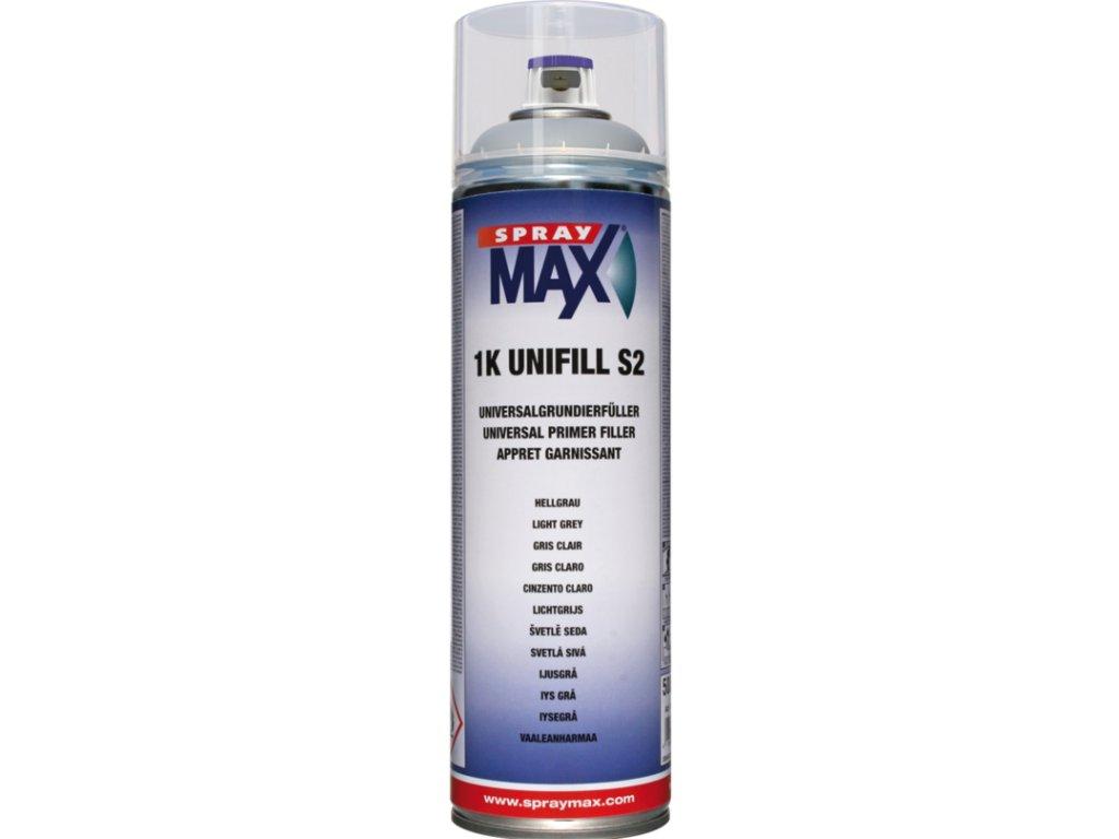 SprayMax 1K UNIFILL S6 tmavě šedá 500 ml