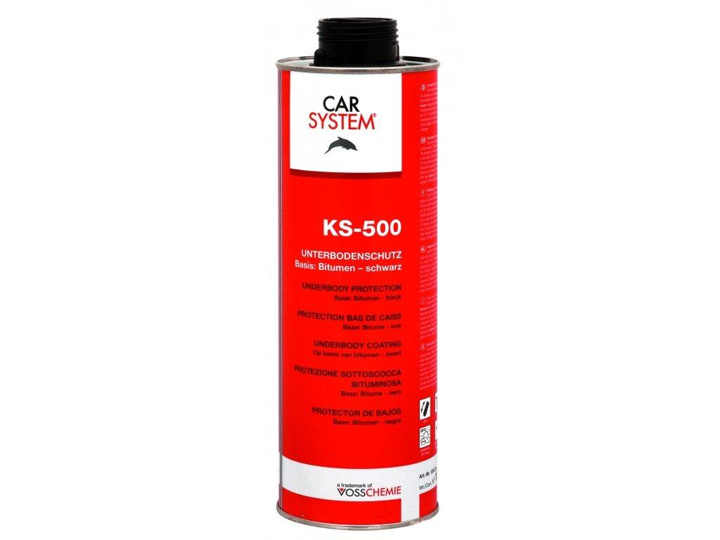 CS KS-500 Bitumen černý, ochrana podvozku, černá, 1l