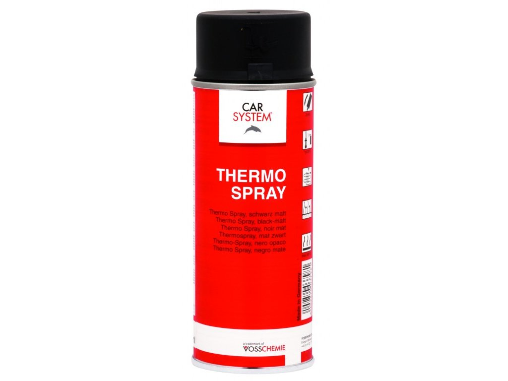 CS Thermo SPRAY černý matný, 400ml