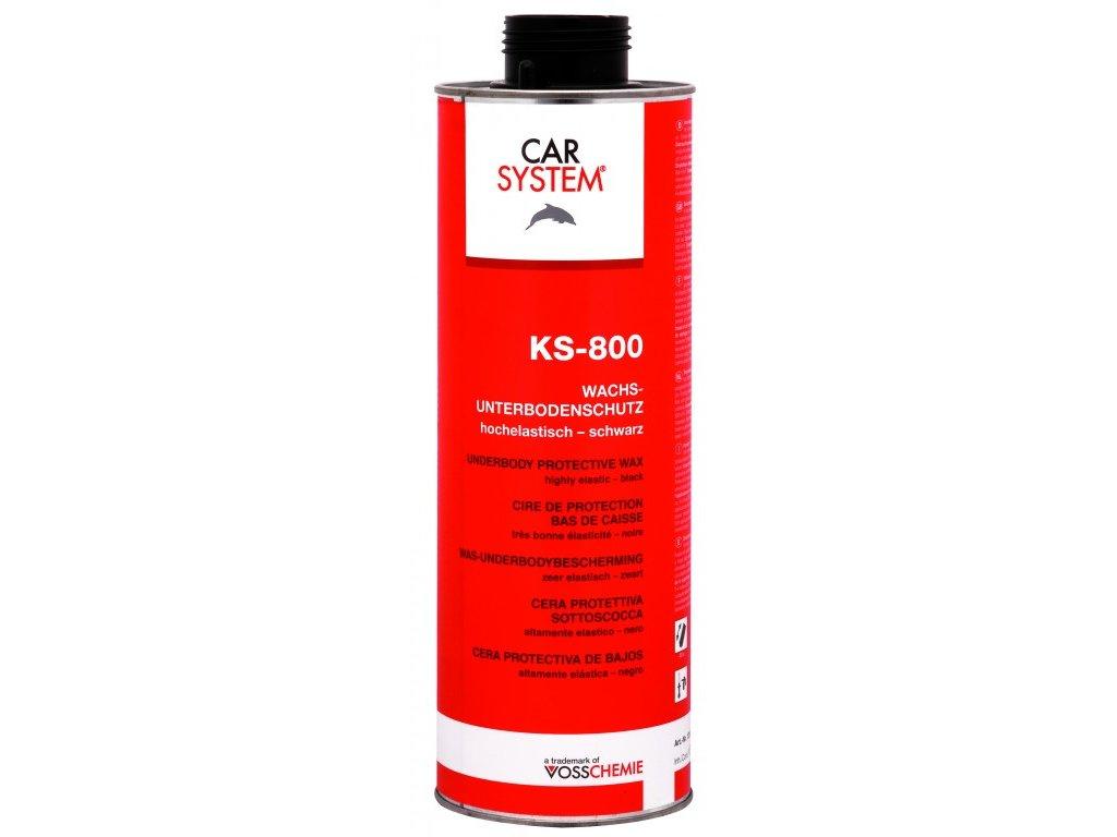 CS KS-800 Ochrana podvozku vosk černá, 1l