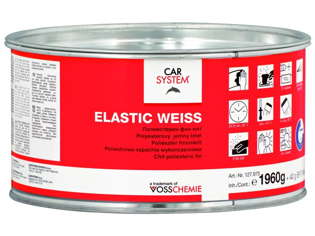 CS ELASTIC WHITE včetně tužidla, 2kg
