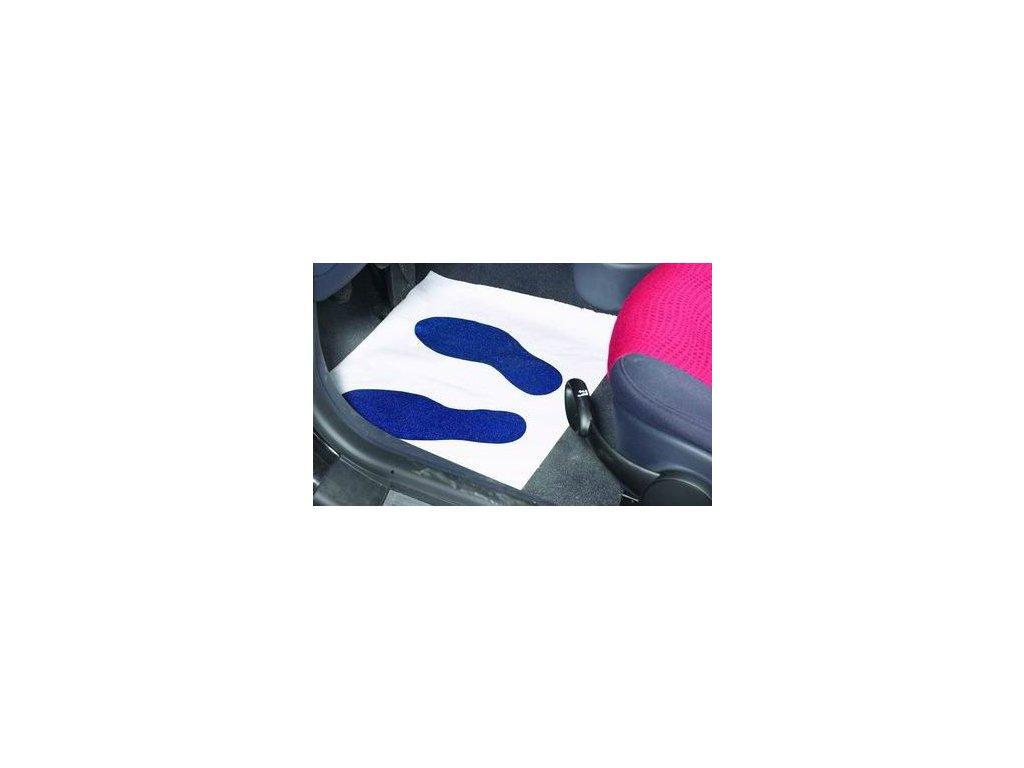 Přikrývky na podlahu, papír (250ks)