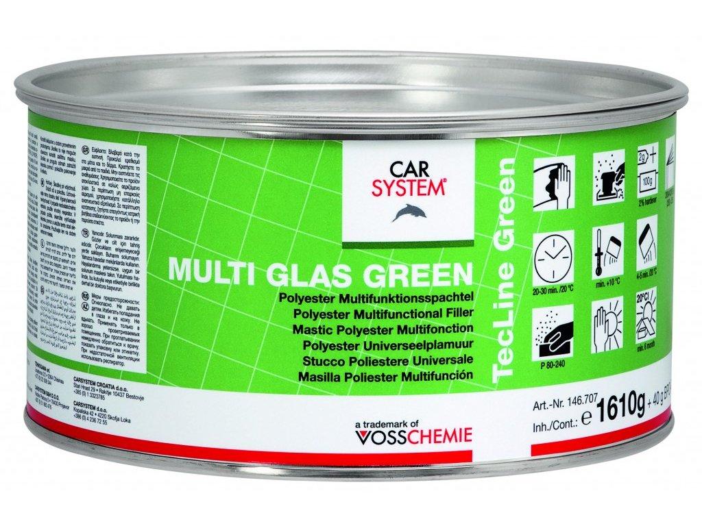 CS MULTI GLAS GREEN s tužidlem, 1,65kg