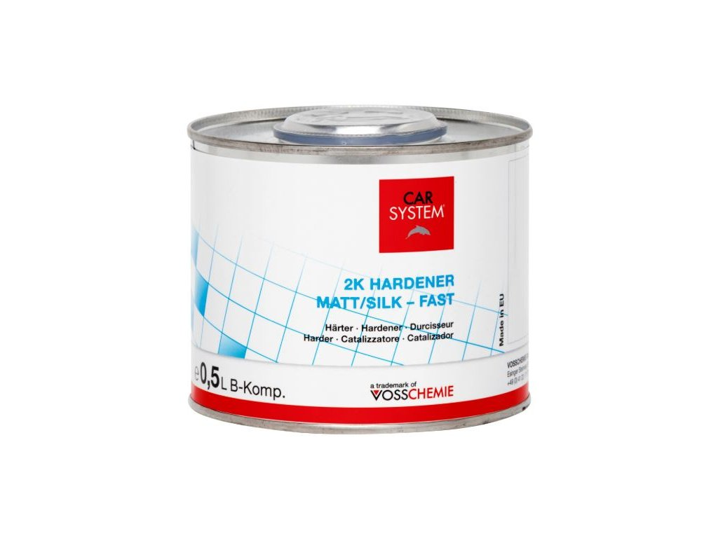 CS 2K VOC matné tužidlo/hedvábný mat rychlé, 0,5l