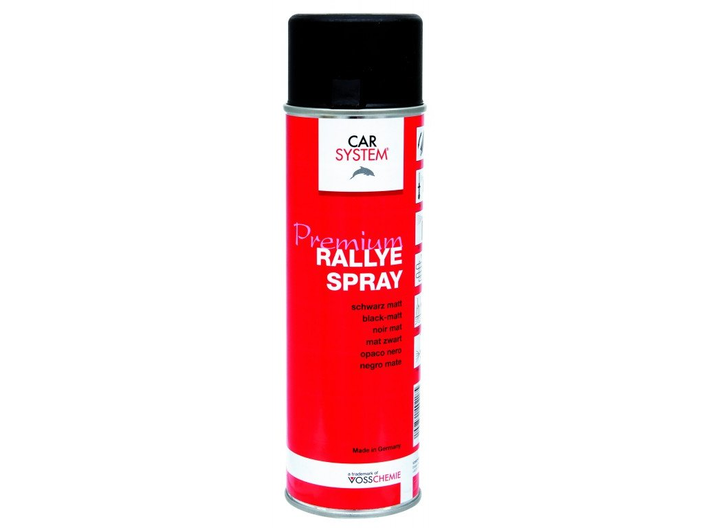 CS Rallye sprej černý matný, 500ml