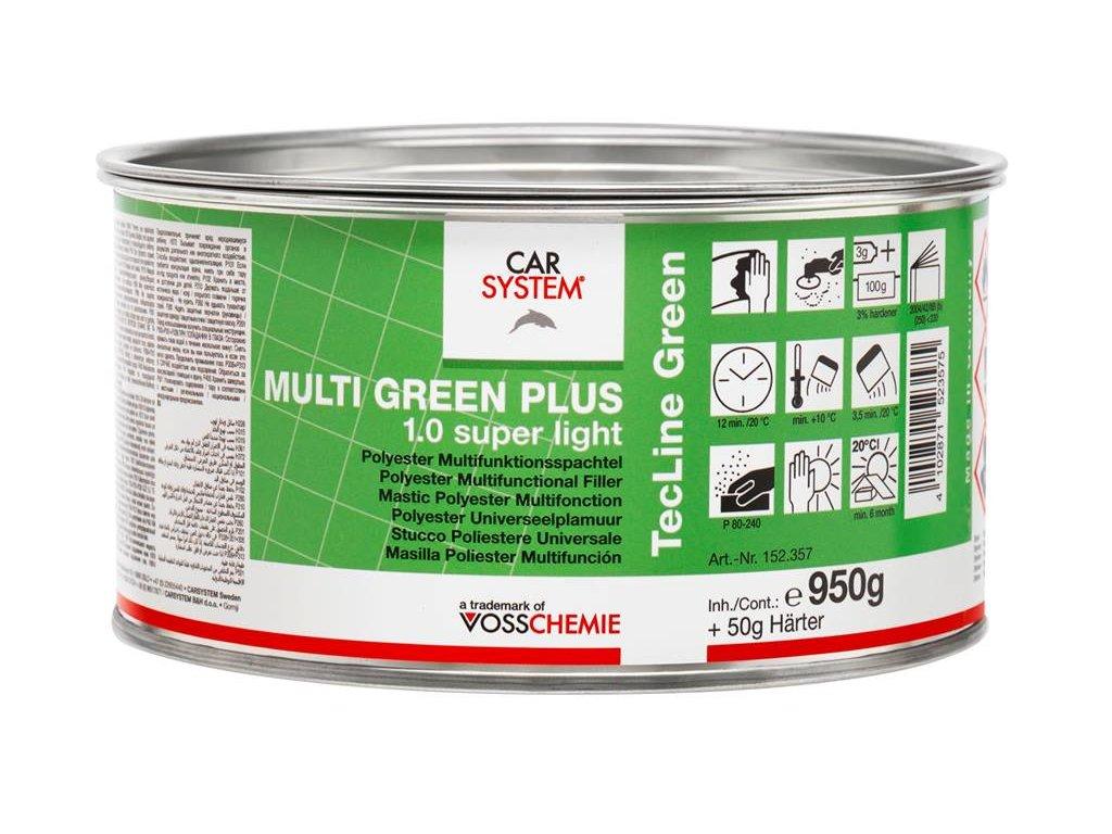 CS MULTI GREEN 1.0 Super Light 1,0kg