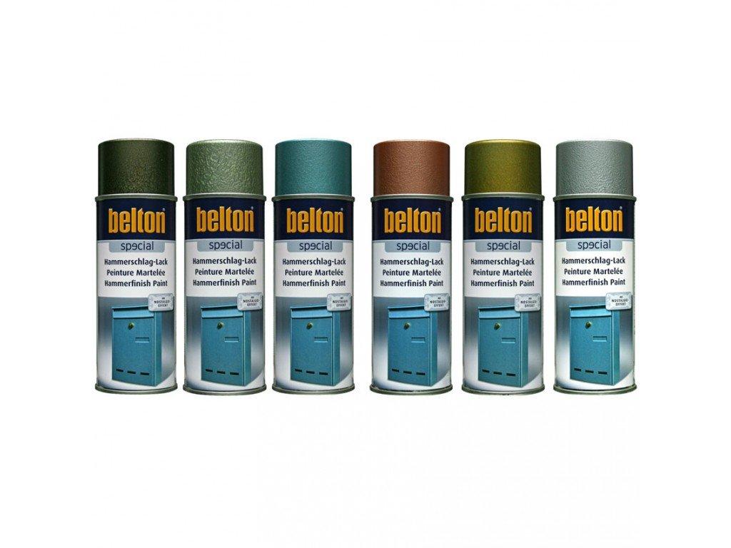 AUTO-K BELTON kladívková modrá barva 400ml