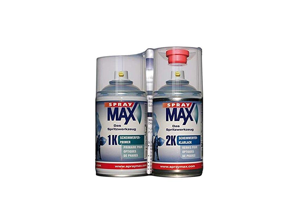 SprayMax Sada 2K na světla 2 X 250 ml