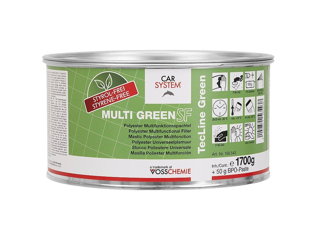 CS Multi Green SF polyesterový tme lplus tužidlo 1,7Kg