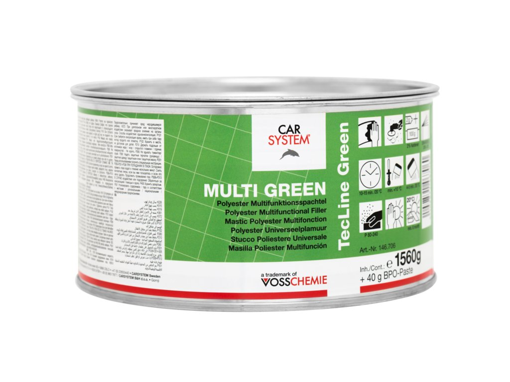 CS Multi Green polyesterový tmel 1,6kg
