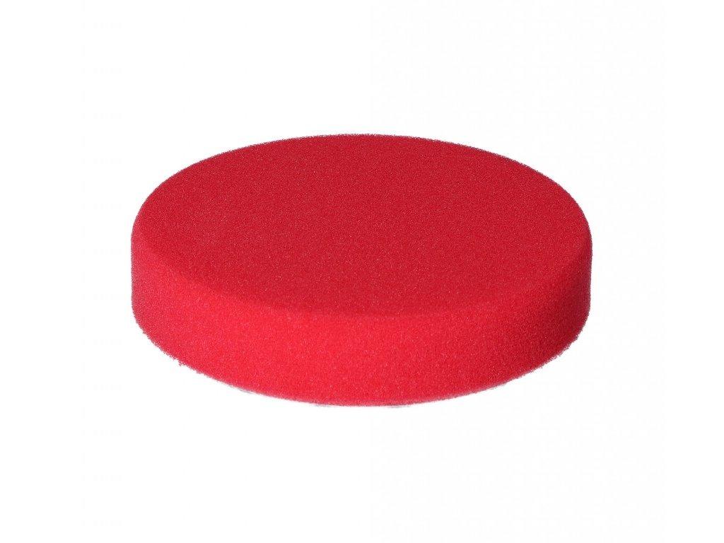 Lešticí podložka kotouč červený 80/25 mm