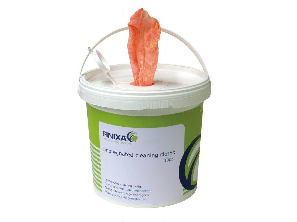 Finixa Impregnované čisticí utěrky - 100ks v dávkovací dóze