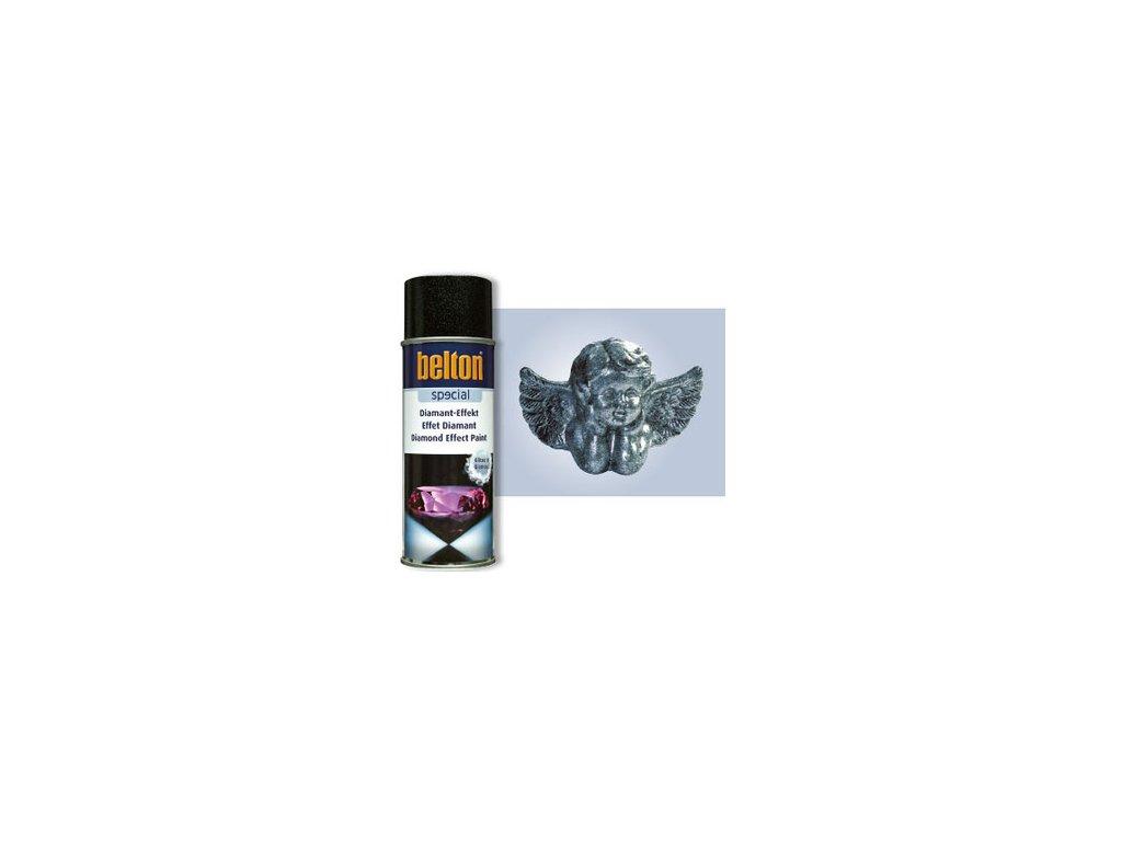 BT SPEC Diamant-Effekt stříbrná 400ml