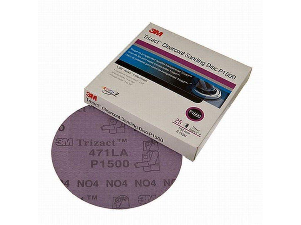 3M Trizact Hookit brusný kotouč na fólii P1500 75mm