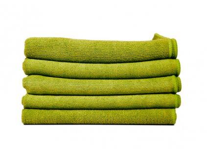 Finixa utěrka z mikrovlákna 40x40cm zelená