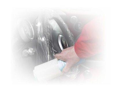 Finixa Krycí fólie na volant - 125mm x 150m - 15?m 10 ks v krabici
