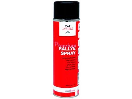 CS Rallye sprej černý lesklý, 500ml