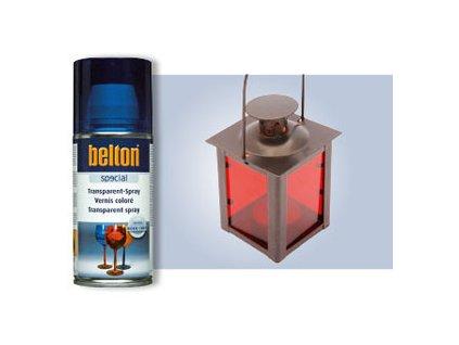 BELTON transparentní barva červená 150ml