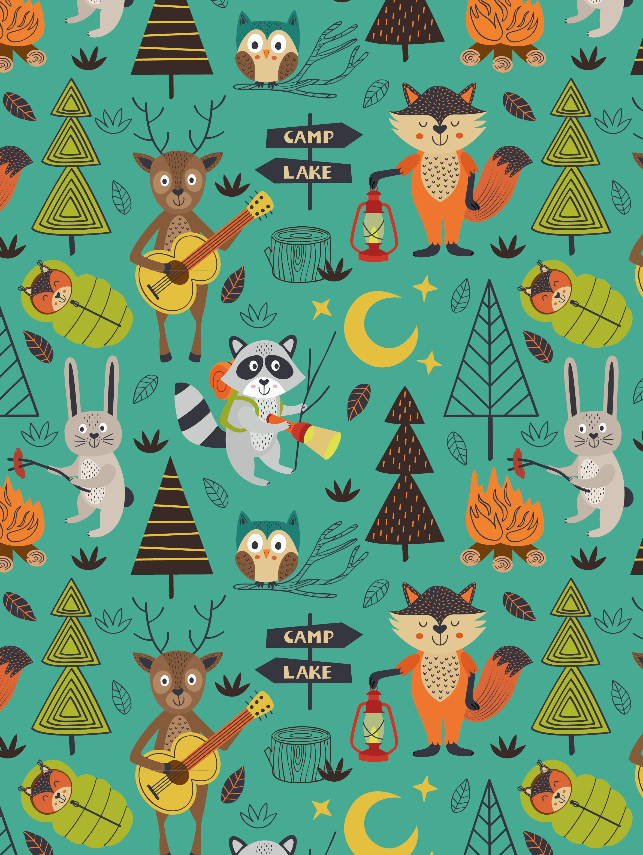 13 - Lesní zvířátka