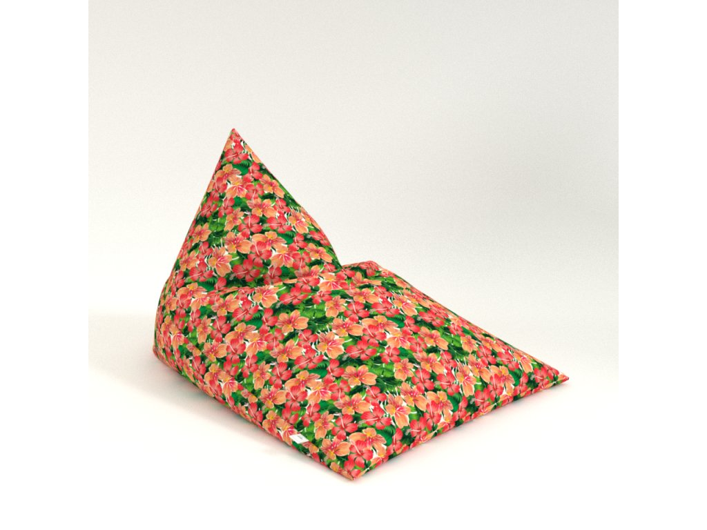 pyramid flowers red