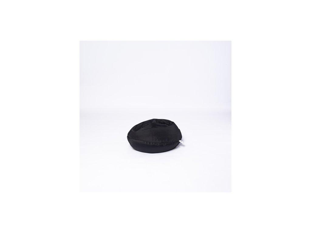 Sedací vak Šiška černá