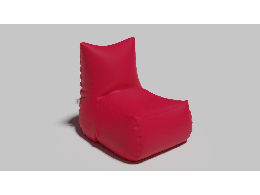 armchair červená