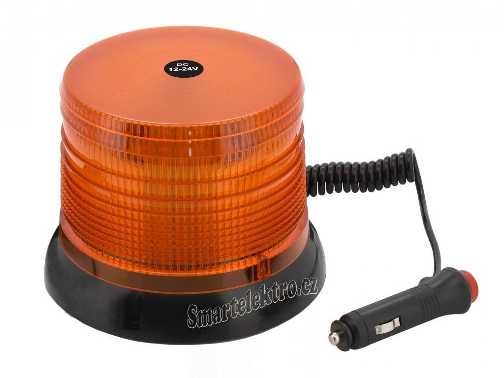 Maják 40LED 12V oranžový 08908