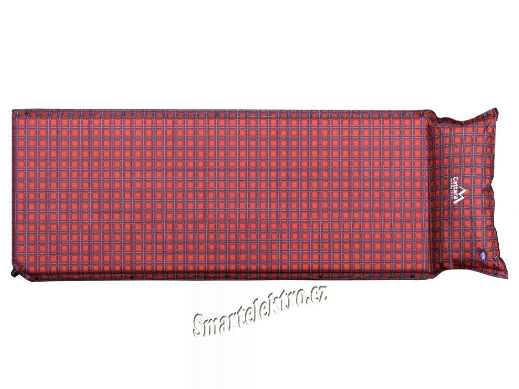 Karimatka samonafukovací 190x60x3,8cm s polštářem KILT 13329
