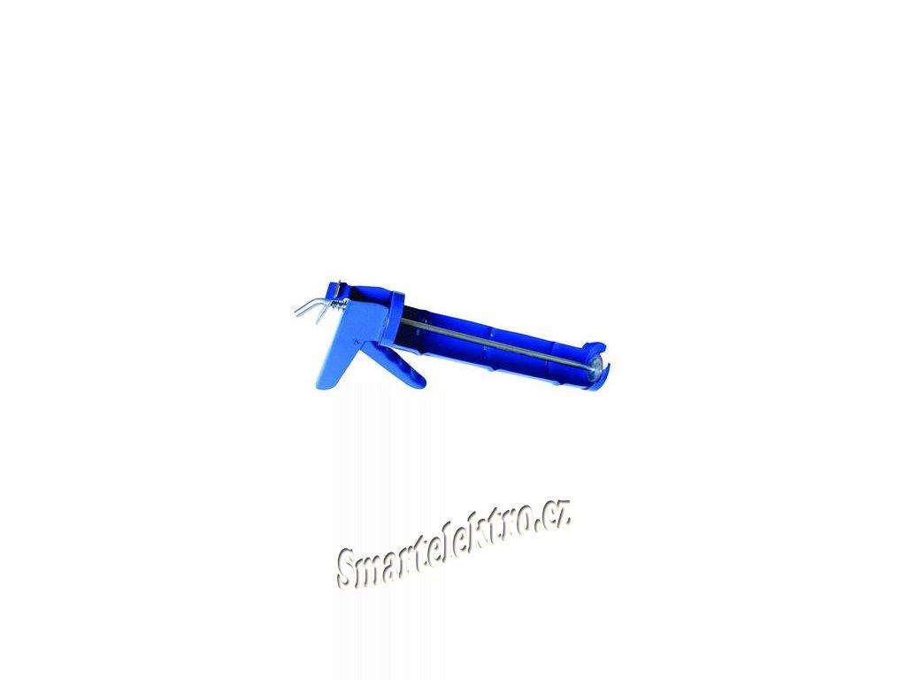 Pistole vytlačovací polouzavřená modrá 38000