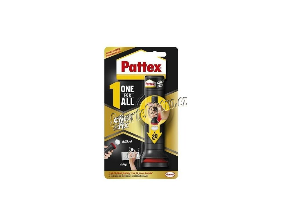 Pattex One For All Click & Fix univerzální