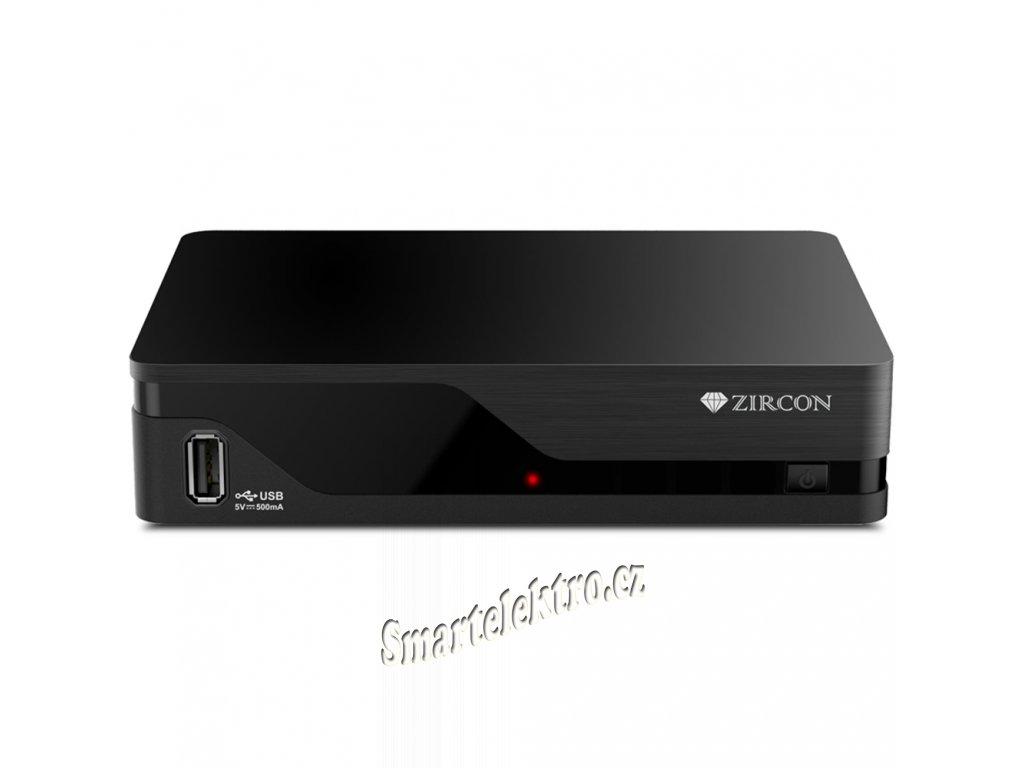 ZIRCON AIR T2 přijímač DVB-T2 s HbbTV